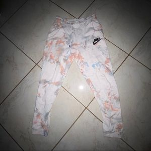 Nike Pants - CUSTOM TIE DYE NIKE SWEATPANTS